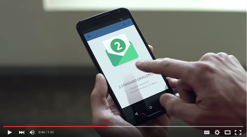 Google Digital Mail Spoof Video