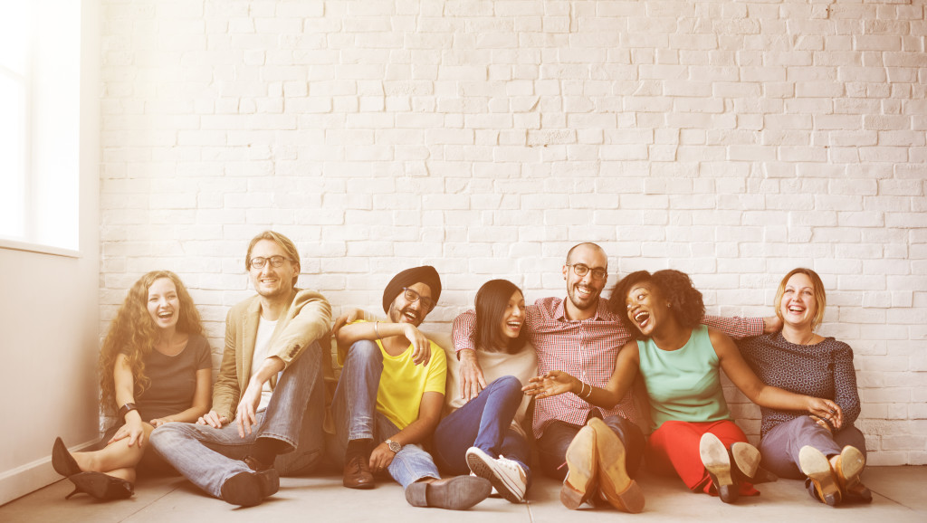 group shot - youngish and diverse shutterstock_411144076