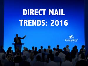 DM Trends 2016